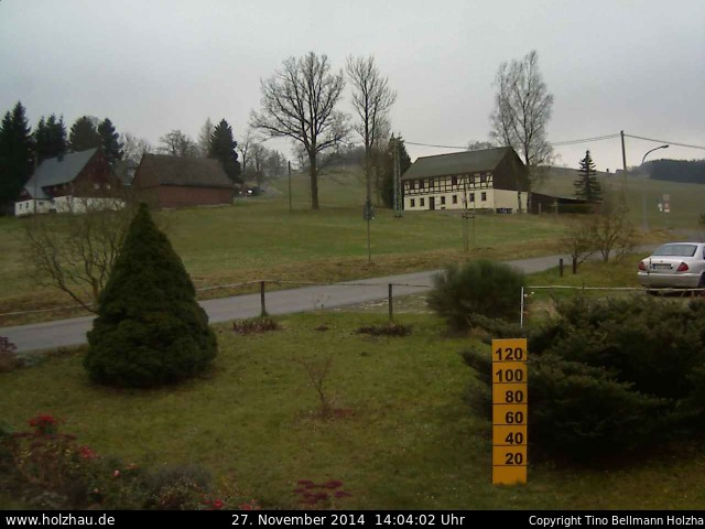 Wetter am 27.11.2014 in Holzhau (Erzgebirge)