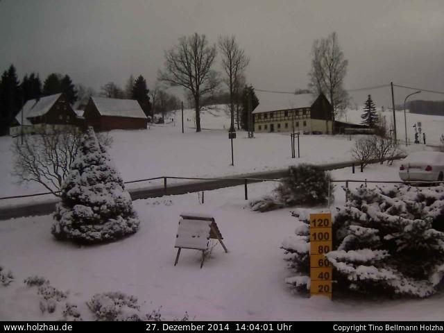 Wetter am 27.12.2014 in Holzhau (Erzgebirge)