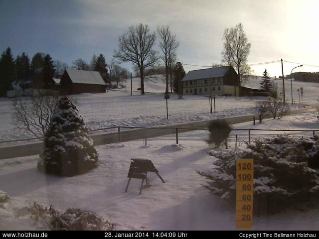 Wetter am 28.01.2014 in Holzhau (Erzgebirge)