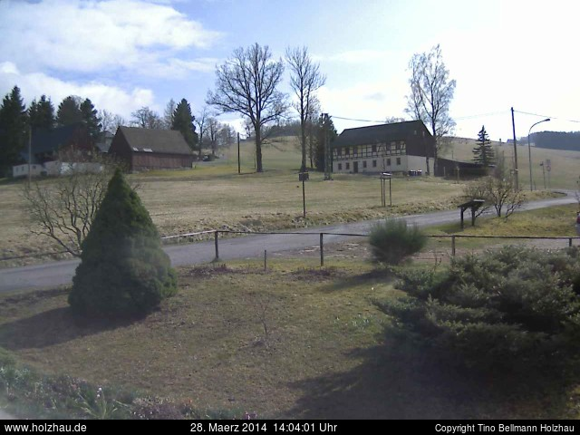 Wetter am 28.03.2014 in Holzhau (Erzgebirge)