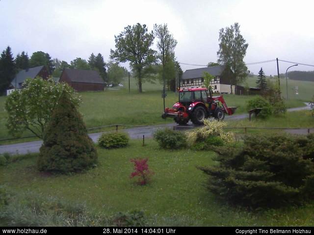 Wetter am 28.05.2014 in Holzhau (Erzgebirge)