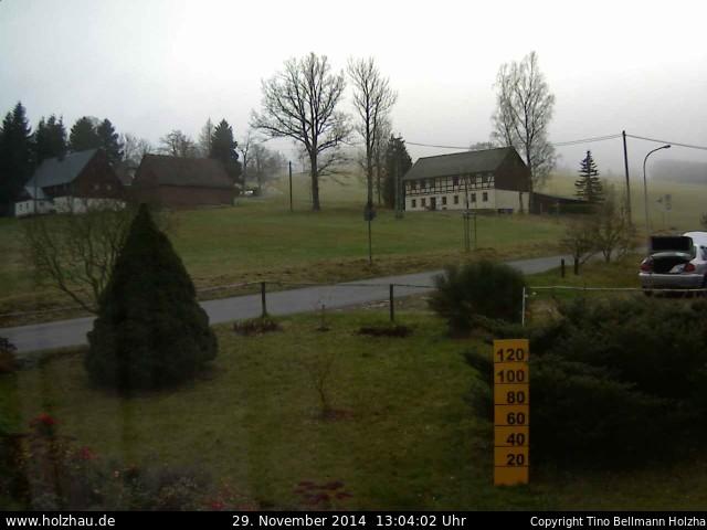 Wetter am 29.11.2014 in Holzhau (Erzgebirge)