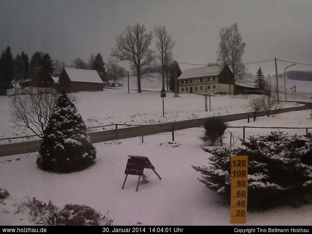 Wetter am 30.01.2014 in Holzhau (Erzgebirge)