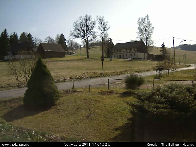 Wetter am 30.03.2014 in Holzhau (Erzgebirge)