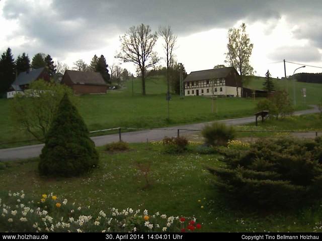 Wetter am 30.04.2014 in Holzhau (Erzgebirge)