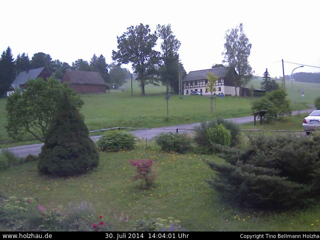 Wetter am 30.07.2014 in Holzhau (Erzgebirge)