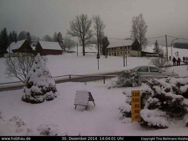 Wetter am 30.12.2014 in Holzhau (Erzgebirge)