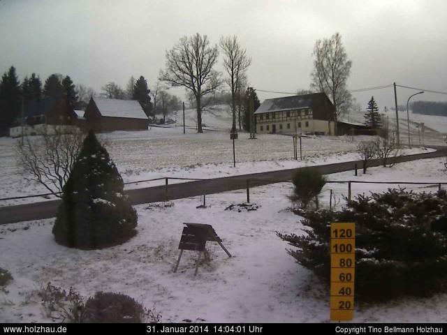 Wetter am 31.01.2014 in Holzhau (Erzgebirge)