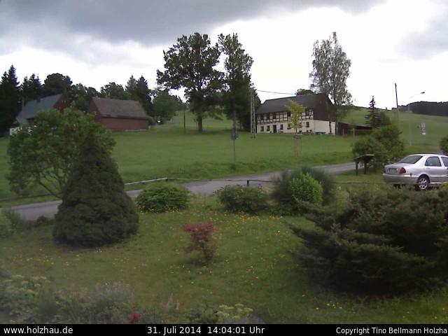 Wetter am 31.07.2014 in Holzhau (Erzgebirge)
