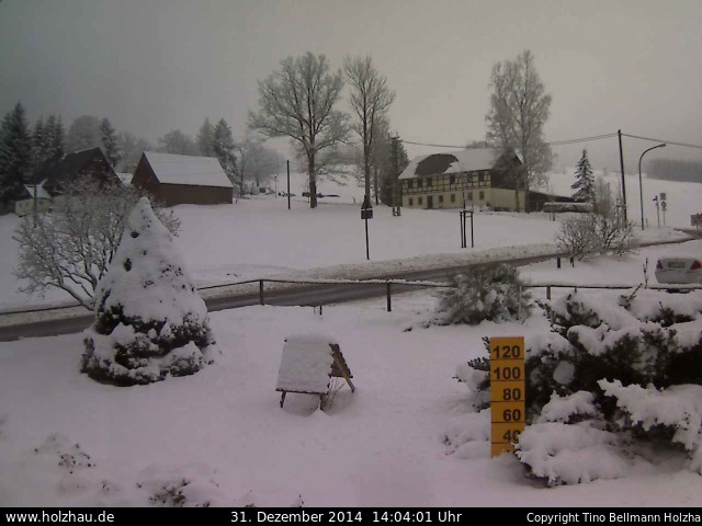Wetter am 31.12.2014 in Holzhau (Erzgebirge)