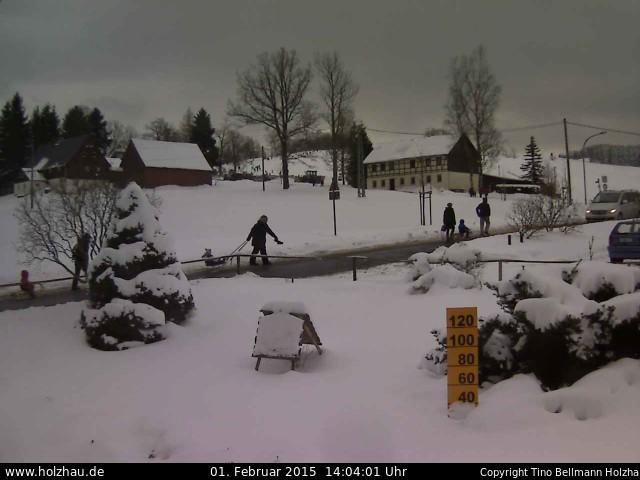 Wetter am 01.02.2015 in Holzhau (Erzgebirge)
