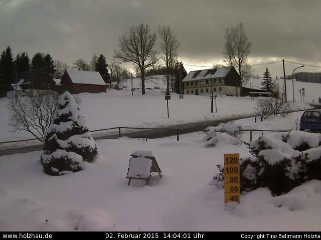 Wetter am 02.02.2015 in Holzhau (Erzgebirge)