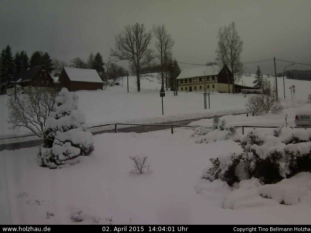 Wetter am 02.04.2015 in Holzhau (Erzgebirge)
