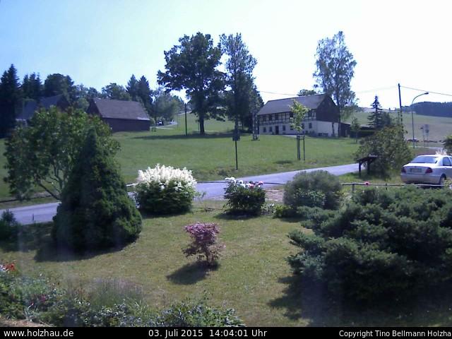 Wetter am 03.07.2015 in Holzhau (Erzgebirge)