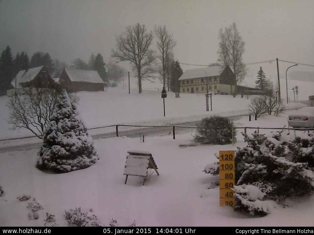 Wetter am 05.01.2015 in Holzhau (Erzgebirge)