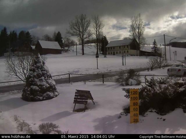 Wetter am 05.03.2015 in Holzhau (Erzgebirge)