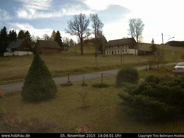 Wetter am 05.11.2015 in Holzhau (Erzgebirge)