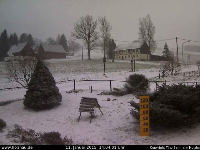 Wetter am 11.01.2015 in Holzhau (Erzgebirge)