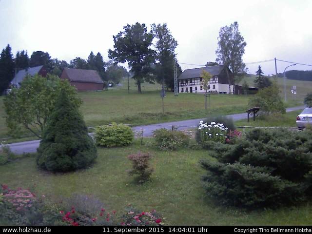 Wetter am 11.09.2015 in Holzhau (Erzgebirge)