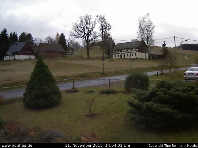 Wetter am 11.11.2015 in Holzhau (Erzgebirge)