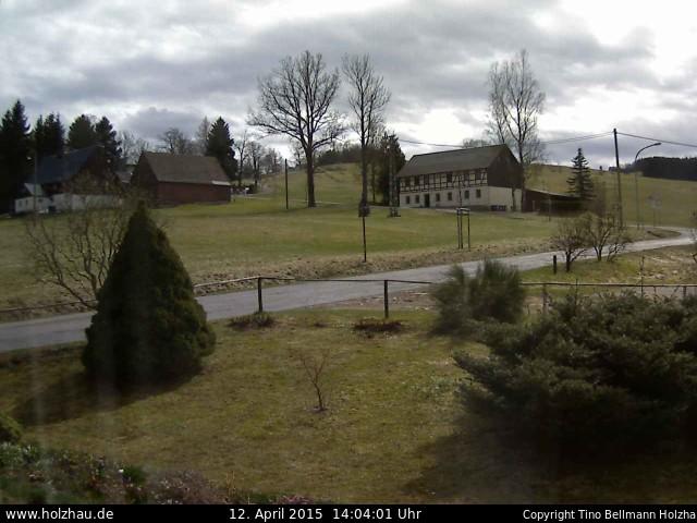 Wetter am 12.04.2015 in Holzhau (Erzgebirge)