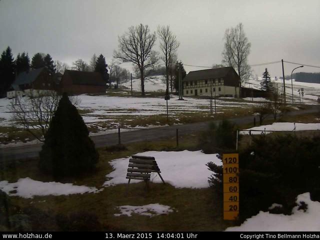 Wetter am 13.03.2015 in Holzhau (Erzgebirge)