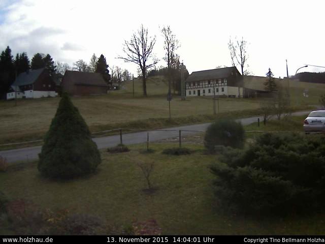Wetter am 13.11.2015 in Holzhau (Erzgebirge)