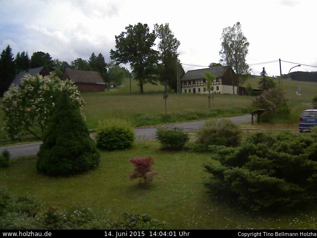 Wetter am 14.06.2015 in Holzhau (Erzgebirge)