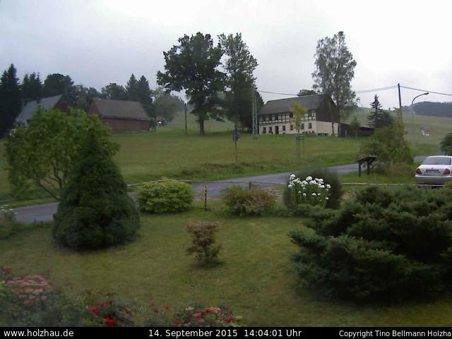 Wetter am 14.09.2015 in Holzhau (Erzgebirge)