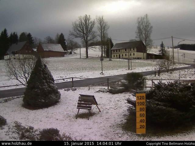 Wetter am 15.01.2015 in Holzhau (Erzgebirge)