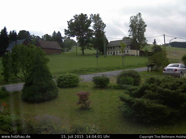 Wetter am 15.07.2015 in Holzhau (Erzgebirge)