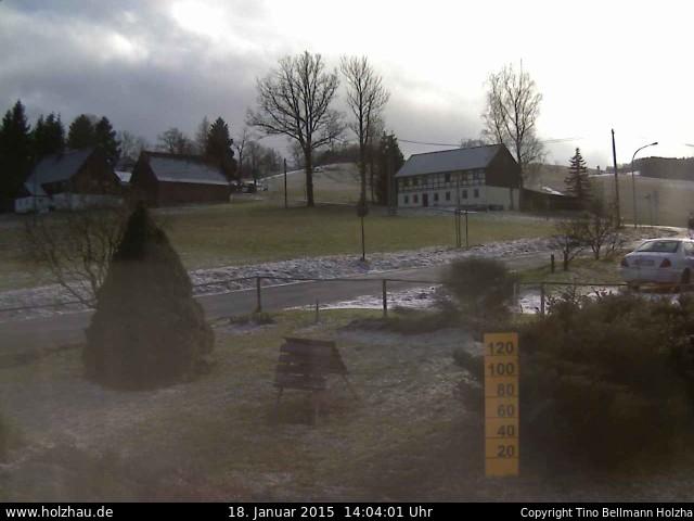Wetter am 18.01.2015 in Holzhau (Erzgebirge)