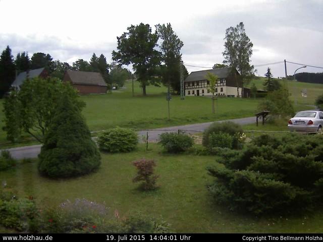 Wetter am 19.07.2015 in Holzhau (Erzgebirge)