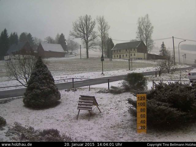 Wetter am 20.01.2015 in Holzhau (Erzgebirge)