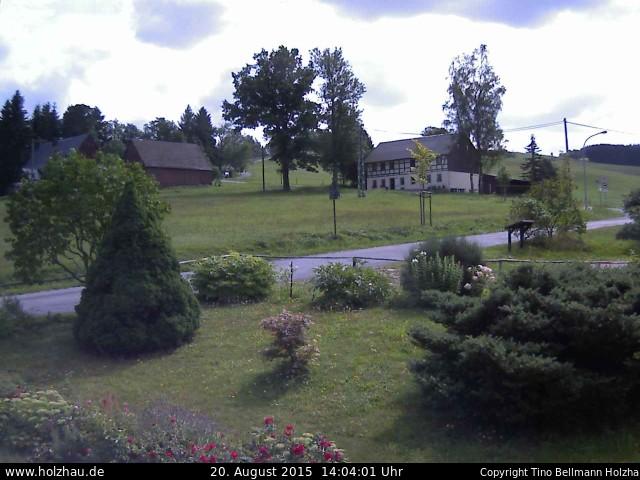 Wetter am 20.08.2015 in Holzhau (Erzgebirge)