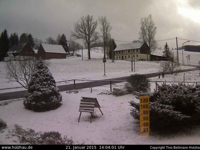 Wetter am 21.01.2015 in Holzhau (Erzgebirge)