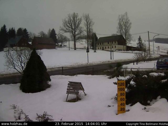 Wetter am 23.02.2015 in Holzhau (Erzgebirge)