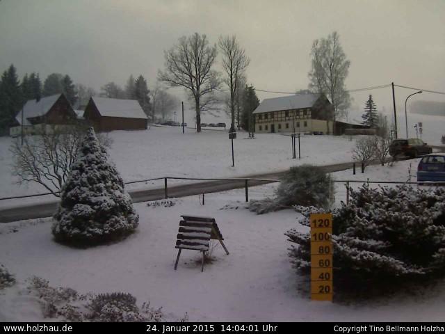 Wetter am 24.01.2015 in Holzhau (Erzgebirge)