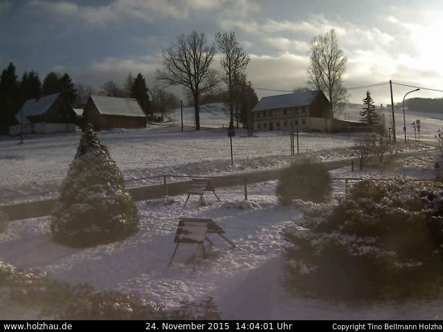 Wetter am 24.11.2015 in Holzhau (Erzgebirge)