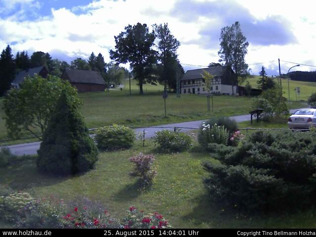 Wetter am 25.08.2015 in Holzhau (Erzgebirge)