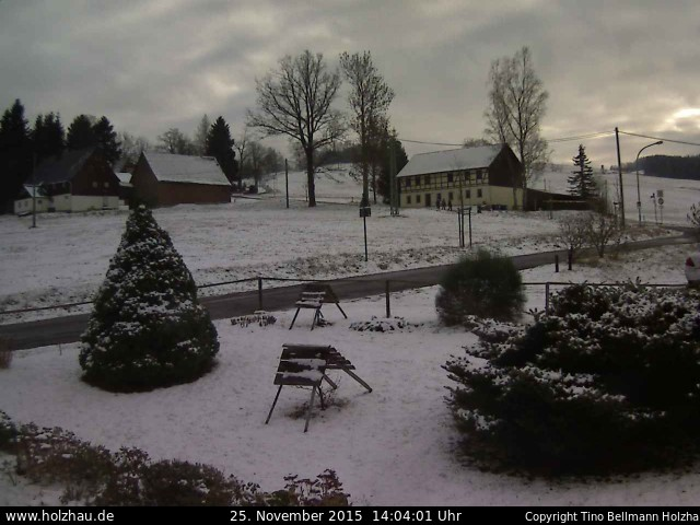 Wetter am 25.11.2015 in Holzhau (Erzgebirge)