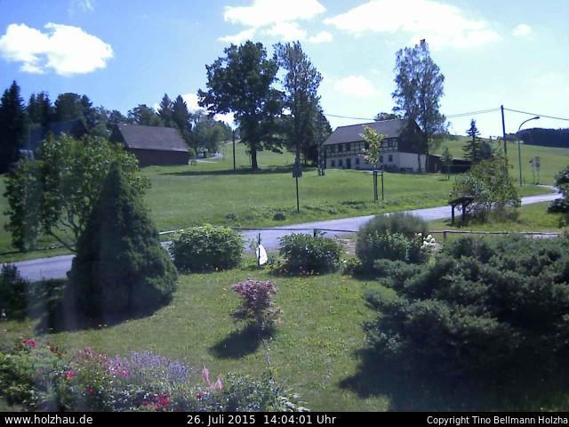Wetter am 26.07.2015 in Holzhau (Erzgebirge)