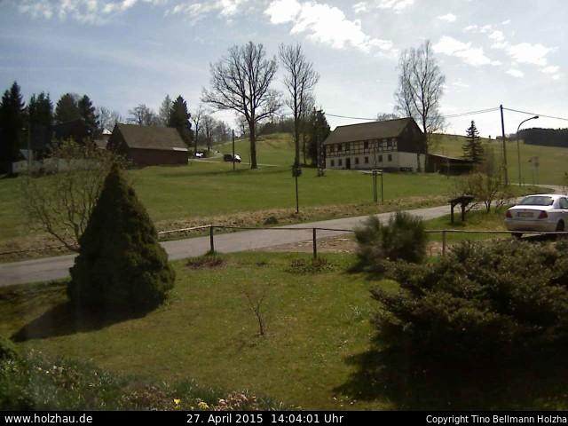 Wetter am 27.04.2015 in Holzhau (Erzgebirge)