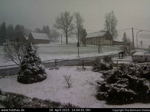 Wetter am 28.04.2015 in Holzhau (Erzgebirge)