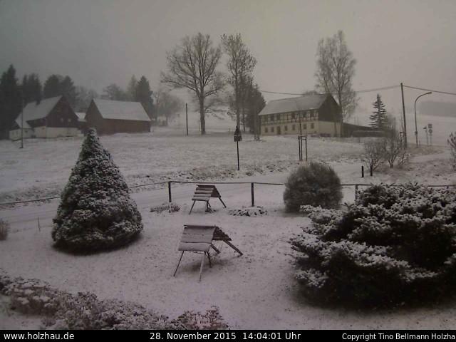 Wetter am 28.11.2015 in Holzhau (Erzgebirge)