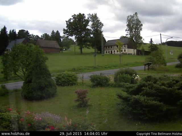 Wetter am 29.07.2015 in Holzhau (Erzgebirge)