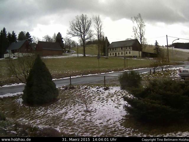 Wetter am 31.03.2015 in Holzhau (Erzgebirge)
