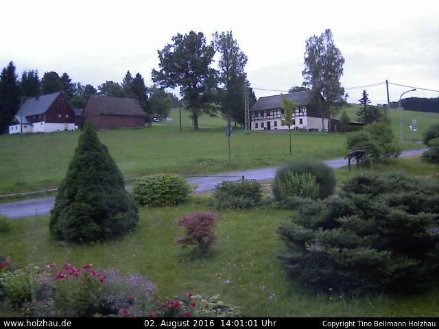 Wetter am 02.08.2016 in Holzhau (Erzgebirge)