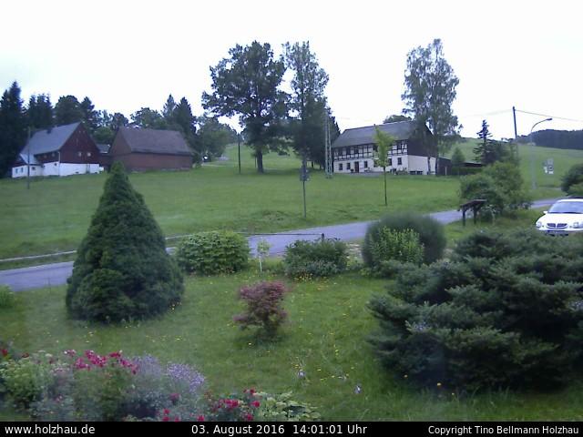 Wetter am 03.08.2016 in Holzhau (Erzgebirge)