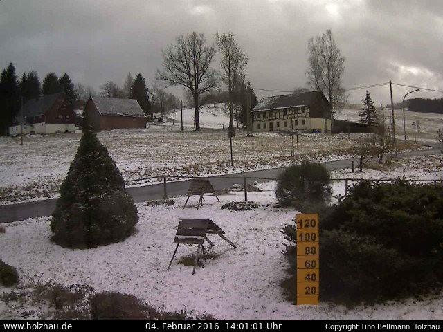 Wetter am 04.02.2016 in Holzhau (Erzgebirge)